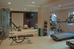 Hilton Checkers Los Angeles fitness